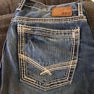 BKE men's jeans, 33R.